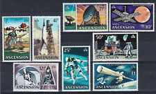 ASCENSION 1971 Decimal Currency - Evolution of Space Travel - MNH stamps - Look!