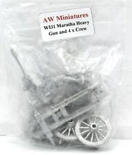 AW Miniatures WI31 Maratha Heavy Gun and Crew Indian Cannon Wellington in India