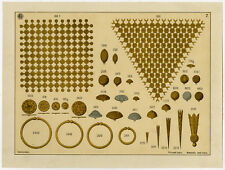 Antique Print-GOLD-SILVER-JEWELLERY-PLATE 7-Anonymous-c. 1890
