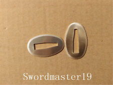 4 Polished Brass Seppa Washer Spacer for Japanese Katana Wakizashi Tanto Sword
