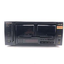 Pioneer CD Player PD-F805 50 Compact Disc Changer Black Carousel Jukebox tested