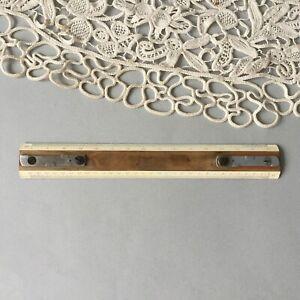 """Vintage Wooden Ruler 30 cm / 11-3/4"""""""