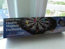 Sharper Image Flexible Magnetic Dartboard NEW