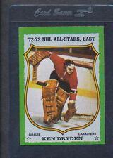 1973/74 Topps #010 Ken Dryden All Star NM *26