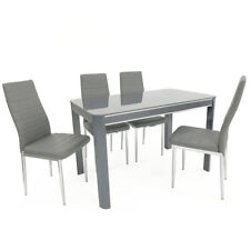 Dining table Morano  plus 4 chairs designer