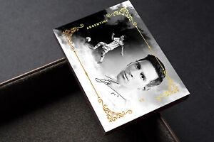 Legends Lionel Messi Barcelona FC Gold Unbranded Soccer Card