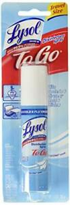 Lysol Disinfectant Spray To Go, Crisp Linen, 1 Ounce