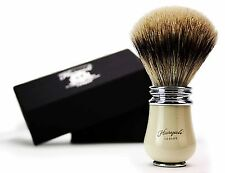 Pure Sliver Tip Badger Hair Shaving Brush with Antique Base