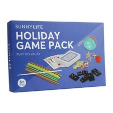 NEW Sunnylife Holiday Game Pack - Cards, Jacks, Dominoes, Yo-yo, Marbles + more
