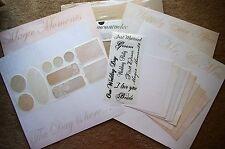 Creative Memories 12x12 Romance Wedding Additions Kit Married Love Romance