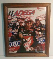 Dale Jarrett Winston 500 Winner Framed Print 1998 Talladega  NASCAR Ford Vintage