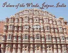 India - JAIPUR PALACE OF WINDS - Travel Souvenir Flexible Fridge Magnet