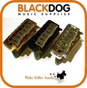 Quality Wilkinson Guitar Tremolo bridge in Chrome, Black, or Gold. WVP SB