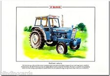 FORD 5000 TRACTOR - Agricultural Fine Art Print A4 size - Replaced Major 1964-79