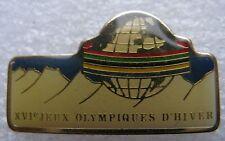 Pin's XVI 16 Jeaux Olympiques d'Hiver JO #776