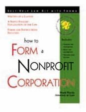 How to Form a Nonprofit Corporation: With Forms-ExLibrary