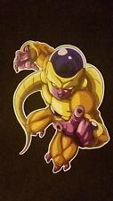 Dragon Ball Z Super Sticker Gold Freeza