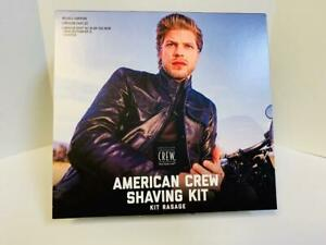 American Crew Shaving Kit Precision Shave Gel, All In One Face Balm