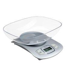 Küchenwaage mit Schüssel Waage Küche digital Feinwaage bis 5KG/1g NEU