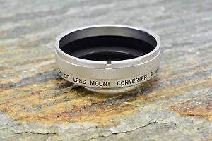 Canon Lens Mount Converter B Canon FL/FD Lens to L39 Rangefinder Adapter (#2958)