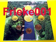 België - Belgique - Officiële set 2007 BU.(Gekleurde Penning)