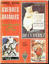 Guerres et batailles Numéro spécial HS N° 10 -  Affiches  2ème guerre mondiale