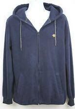 Rip Curl Mens Alpine Anti Series Fleece Large Full Zip Sweatshirt Blue Jacket