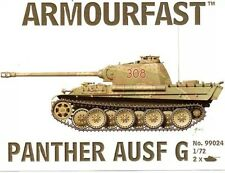 Armourfast 99024 1/72 German WWII PzKpfw V Panther (2 Models)