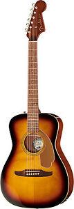 Fender chitarra acustica elettrificata Malibu Player WN Sunburst 4/4