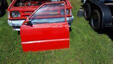 1988 MAZDA B2200 5 SPEED DRIVER SIDE DOOR LEFT WHITE PICK UP TRUCK RUST FREE