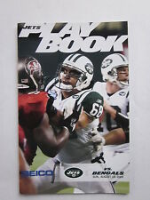 NY Jets Kevin Mawae on the Cover of NFL Jets Play Book Game Day Program 8/10/03