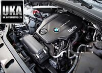 2016 BMW X3 2.0 1995CC F25N Motore Diesel Completo Codice: B47D20A Miles: 34,000