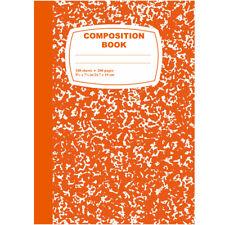 48-Composition Notebook, 100 Sheets, Orange (22188).