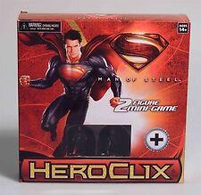 ESZ428. Wizkids Heroclix: MAN OF STEEL 2 Figure Mini-Game-New & Sealed (2013)