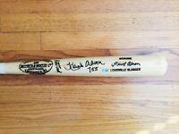 """Hank Aaron """"755"""" Signed Autograph Baseball Bat, MLB COA"""