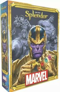 Marvel Splendor Card Game By Space Cowboys | New & Sealed | 2-4 Player Ages 10+