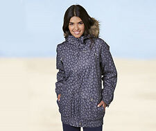 BNWT Ladies Womens Trespass Begin Winter Faux Fur Trim Snow Ski Jacket Coat XS