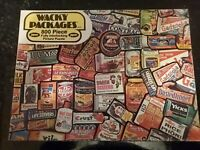 1973 Wacky Packages Picture Jigsaw Puzzle Topps Chewing Gum Jaymar 800 Pieces