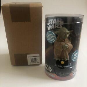 """No Tab"" Star Wars Yoda Dashboard Driver BNWT 2006 Motion Sensor Voice Figure"
