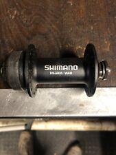 Shimano Deore Front Hub HB-M495 32H QR Centerlock or V-Brake Black