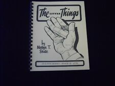 The Little Things , Merlyn T. Shute - Morrissey Magic Ltd. (a must have)