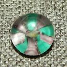 Antique Vtg Paperweight Button  Aprx 11 16 1401 D