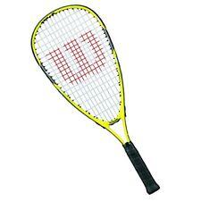 Wilson Ripper Junior Squash Racquet,YellowBlack