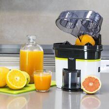 Exprimidor con Cortador de Fruta Cítricos Turbo-exprimidor de Doble Cabezal
