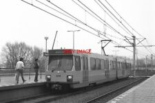 PHOTO  NETHERLANDS TRAM 1986 SUN WESTRAVEN TRAM NO 5015 UTRECHT