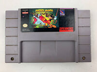 Mickey Mania SNES Super Nintendo Game W/ Cartridge Protector Tested