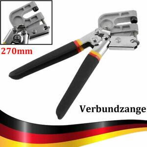 Verbundzange Profil Ständerwerk Zange Trockenbau Krimperzange Blech Metall 27cm
