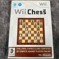 Wii Chess Nintendo Wii PAL Game Complete Board Game Classic on Wii