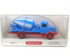 1/87 Wiking Henschel HS 100 Betoniera Blu/rosso 0532 01