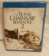 The Texas Chainsaw Massacre 2 (Blu Ray Case) Replacement Case and Artwork Only